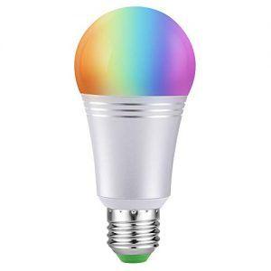 bombilla inteligente ausein luz color y blanca