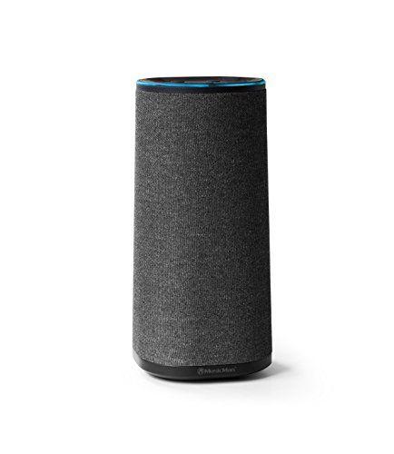 Technaxx MusicMan BT-X34 - Altavoz Bluetooth con Amazon Alexa Control de Voz, Color Antracita