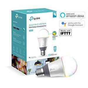bombilla led tp-link lb130 wi-fi inteligente para alexa y google home