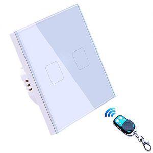 control inalámbrico de interruptor inteligente led para pared jadis
