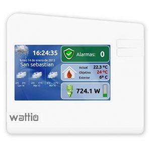 pantalla tactil wattio gate centralita de domótica