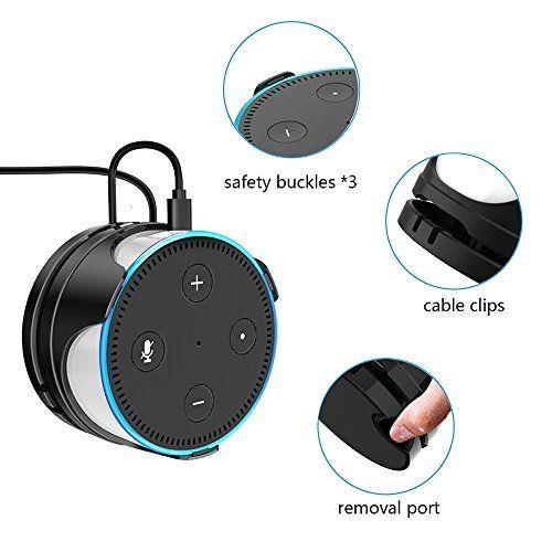practico soporte para Alexa Echo Dot 2
