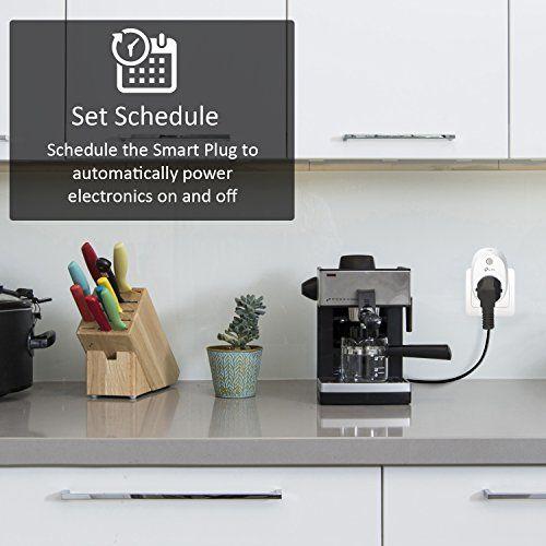 programar uso de electrodomésticos con el enchufe inteligente tp-link