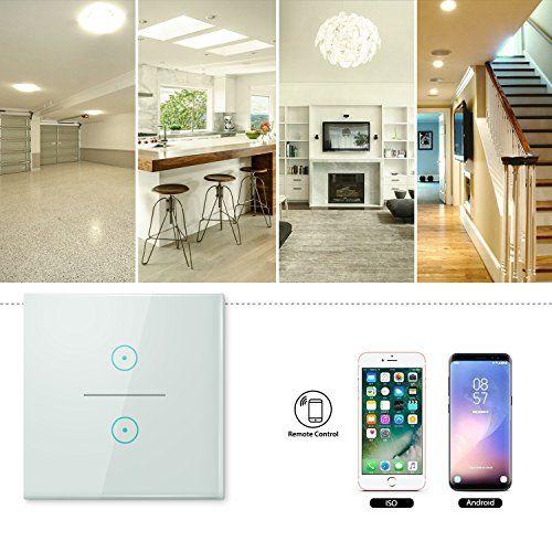 interruptor inteligente wifi gremag para hogar inteligente