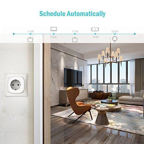 programación automática de electrodomésticos con meross para el hogar
