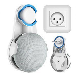soporte wigoo para colgar en enchufe un google home mini