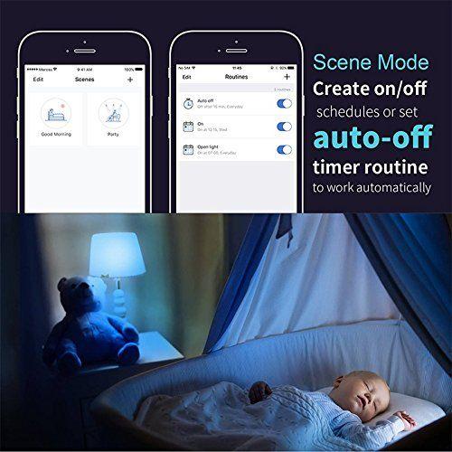 app meross programación de luces desde app y smartphone