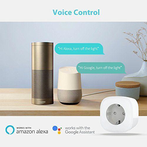 meross enchufe inteligente control de voz con alexa y google home