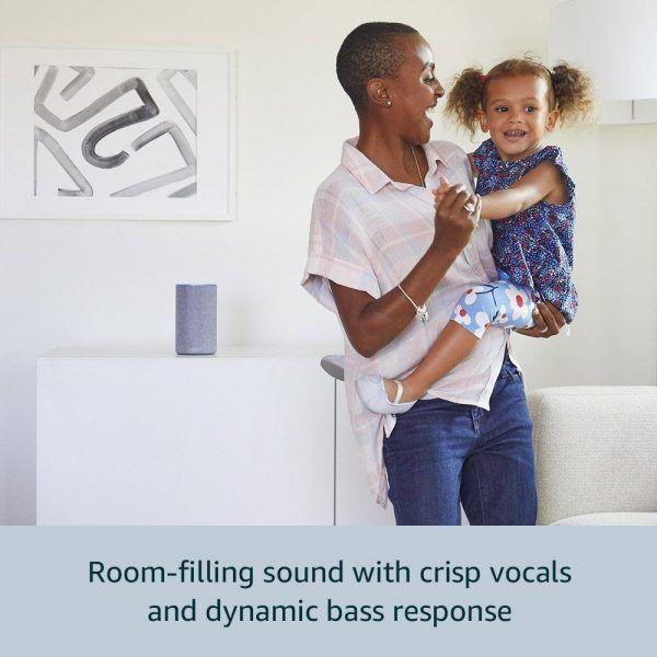 amazon echo sonido envolvente para hogar inteligente