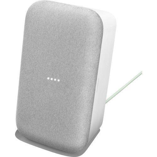 altavoz google home max blanco tiza en vertical