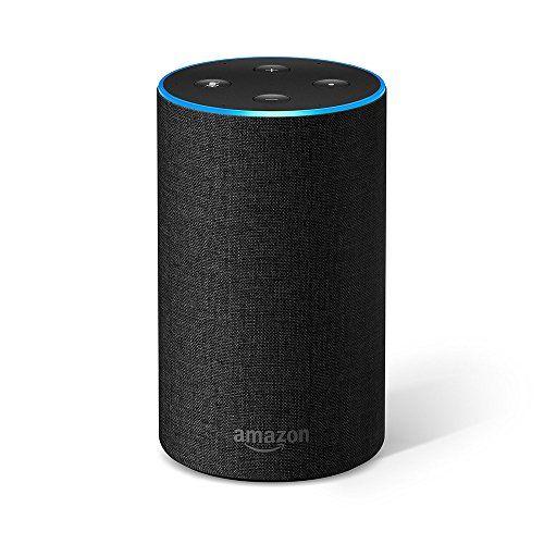AMAZON ECHO (2.ª generación) - Altavoz inteligente con Alexa, Antracita