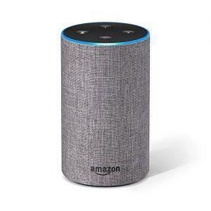 Amazon Echo (2.ª generación) - Altavoz inteligente con Alexa, Gris Oscuro