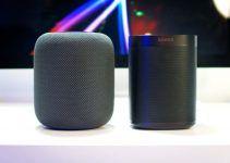 Comparación de altavoces inteligentes Sonos One y Apple HomePod