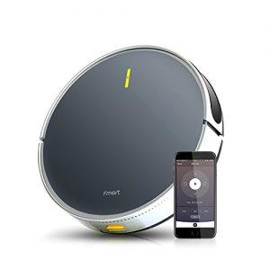 FMART B66 - Robot Aspirador Fuerte succión con Google Home y Alexa