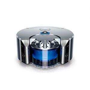 DYSON 360 EYE - Robot Aspirador Inteligente (Níquel / Azul)