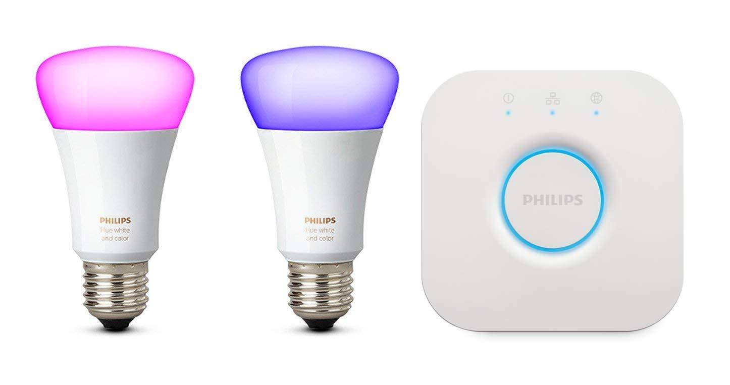 iluminación inteligente philips hue compatible con alexa